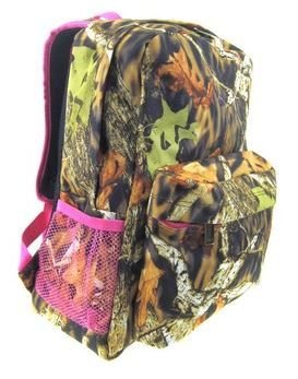 Hey, I found this really awesome Etsy listing at https://www.etsy.com/listing/167616602/personalized-girls-camo-backpack-bookbag