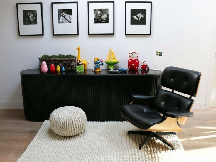 knitted carpet olijk en vrolijk