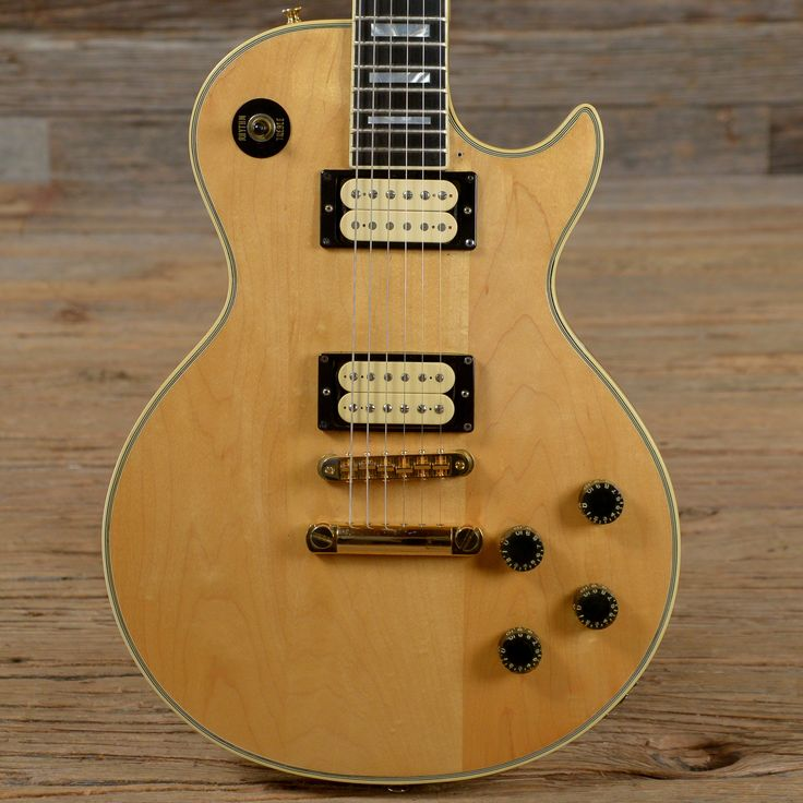Shaved Neck Gibson Guitar