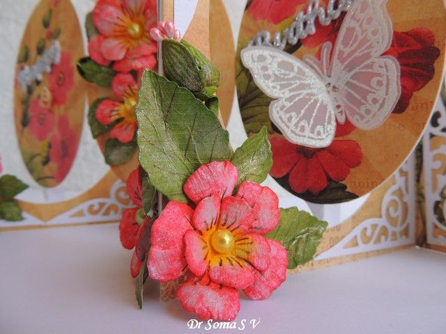 205 best flower making tutorials images on pinterest paper flowers how to make your flowers shimmer card making tutorialspaper mightylinksfo