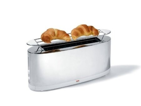 Alessi modern stainless toaster