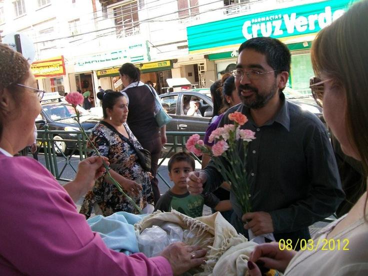 Homenaje a mujeres de Temuco