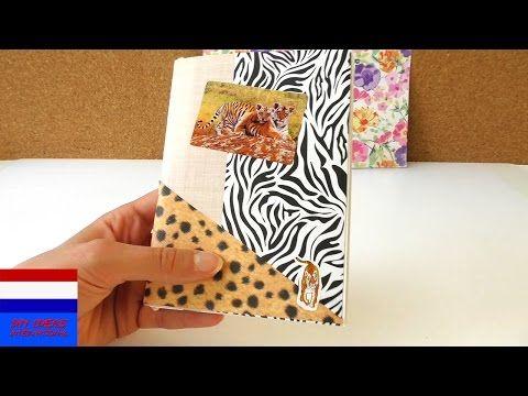 (27) reisdagboek knutselen | DIY diary & journal van briefpapier | vakantiedagboek bijhouden | zomer - YouTube