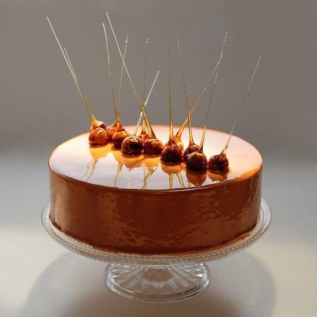оригинальные карамельный декор для торта рецепт с фото поэтому