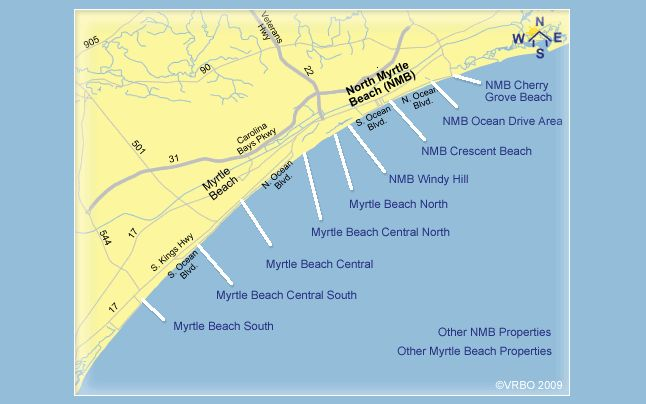 North Myrtle Beach 2 Bedroom Vacation Rentals sleeping 4-plus From VRBO