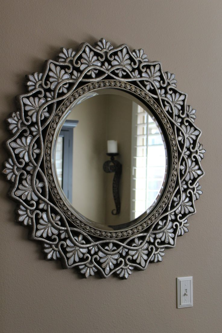 Pier 1 Imports framed mirror. It took me several years just to find the right one.