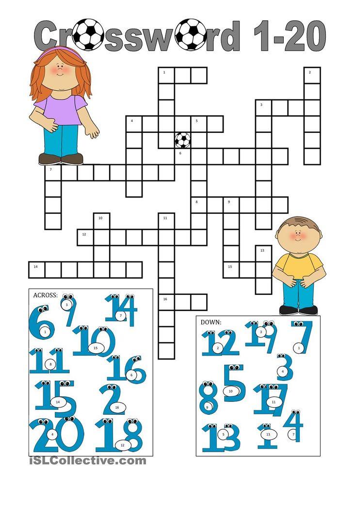Crossword 1-20