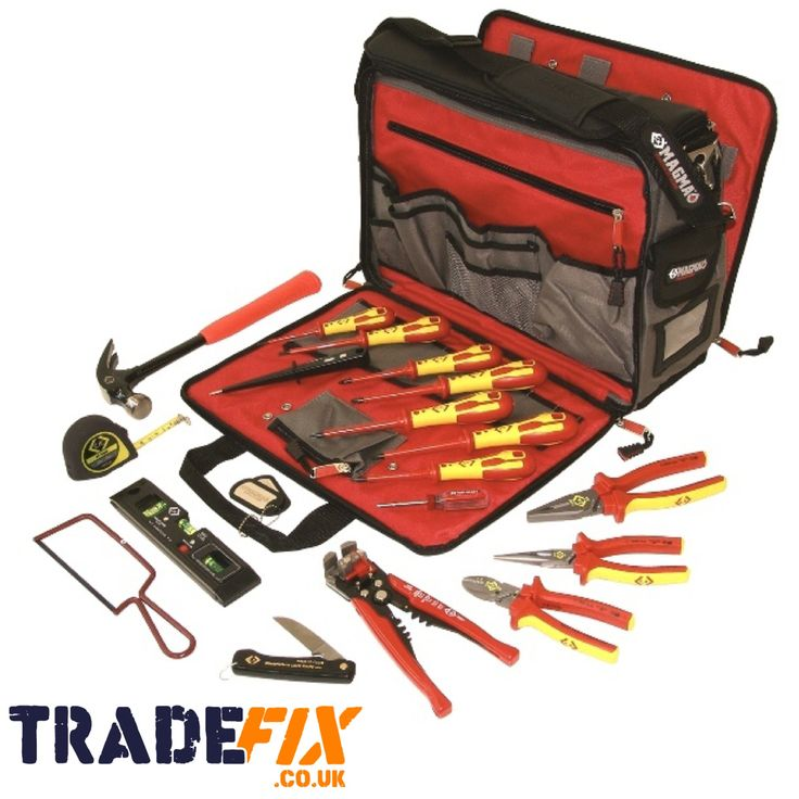 595003Designed with electrician's, service engineers and technicians in mind. The Magma Technician Tool Case with internal and external pockets, padded central pocket which is ideal for a Laptop, separate...