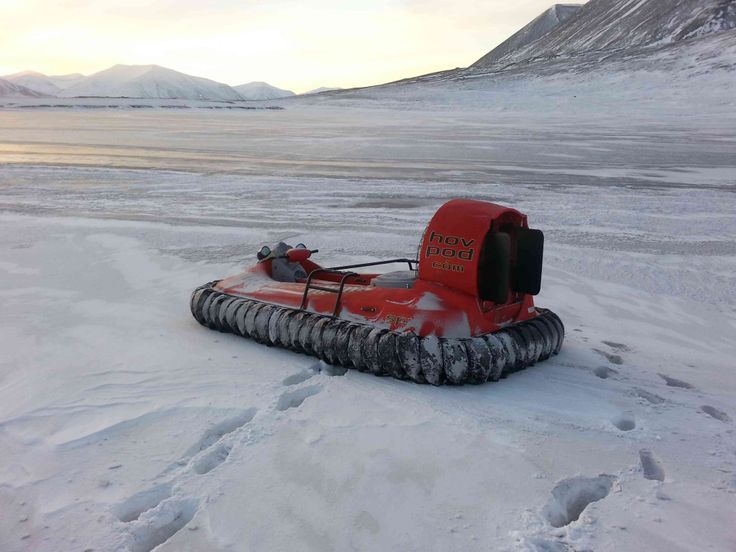 Hov Pod Patrol Hovercraft - Wherever you need to go, you can rely on it to get you there.