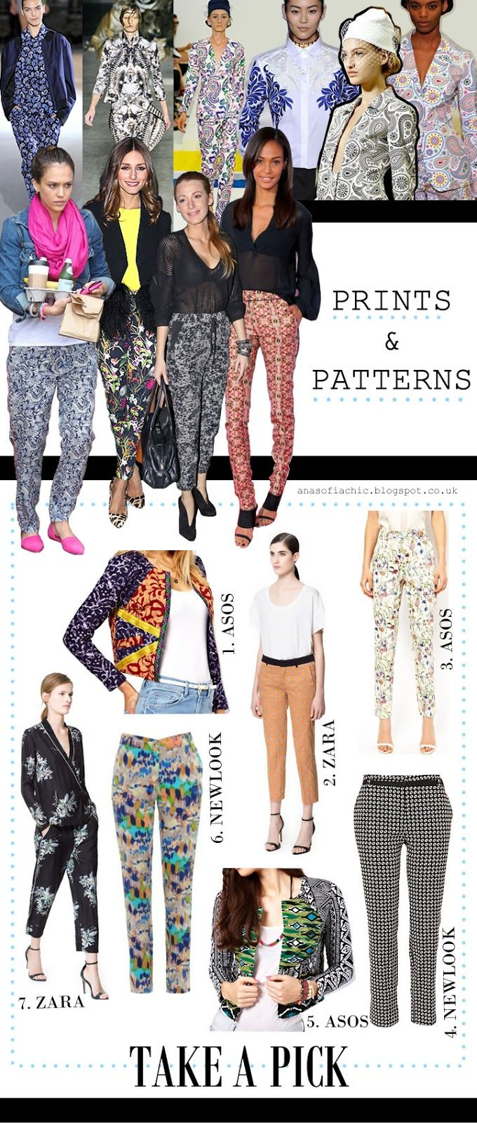 Trending: Prints and Patterns. Be bold.