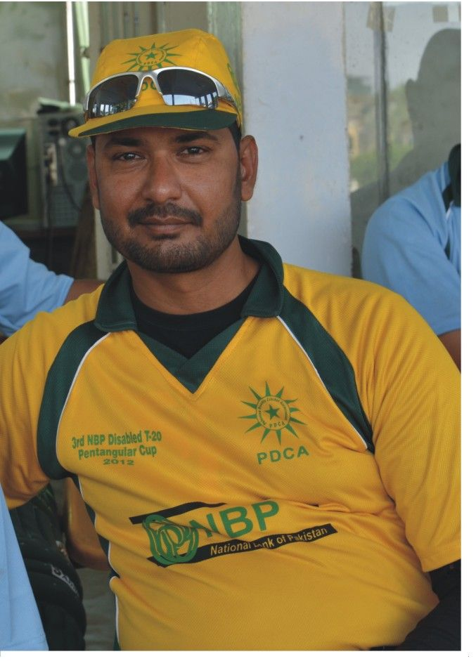 Today we are introducing a unique Cricket Player from Pakistan. This is Sikandar Zaman Khan.