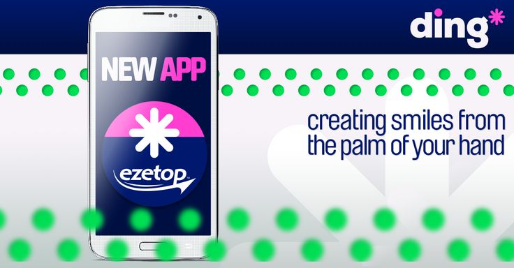 Get it today! Send international mobile top-up faster and easier from the palm of your hand with the 'NEW' ding* mobile app on IOS and Android devices - Download yours here https://www.ezetop.com/mobile-apps?x=hs