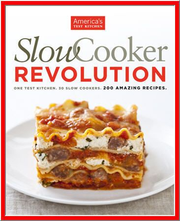 $4.89 - Who doesn't like the idea of throwing ingredients into a slow cooker and coming back hours later to a finished meal? Too bad most slow cooker recipes deliver mediocre results you'd rather forget than fix again. A team of ten test cooks at America's Test Kitchen spent a year developing recipes, and what they discovered will change the way you use your slow cooker.