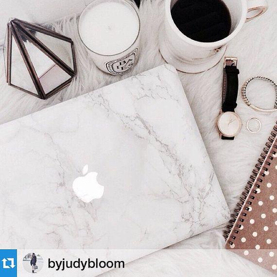 The ORIGINAL MARBLE MACBOOK Skin /// High Fashion Marble Skins for MacBook Laptops