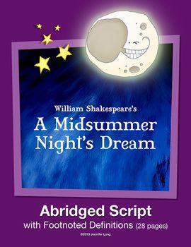 Shakespeare's A Midsummer Night's Dream--Abridged