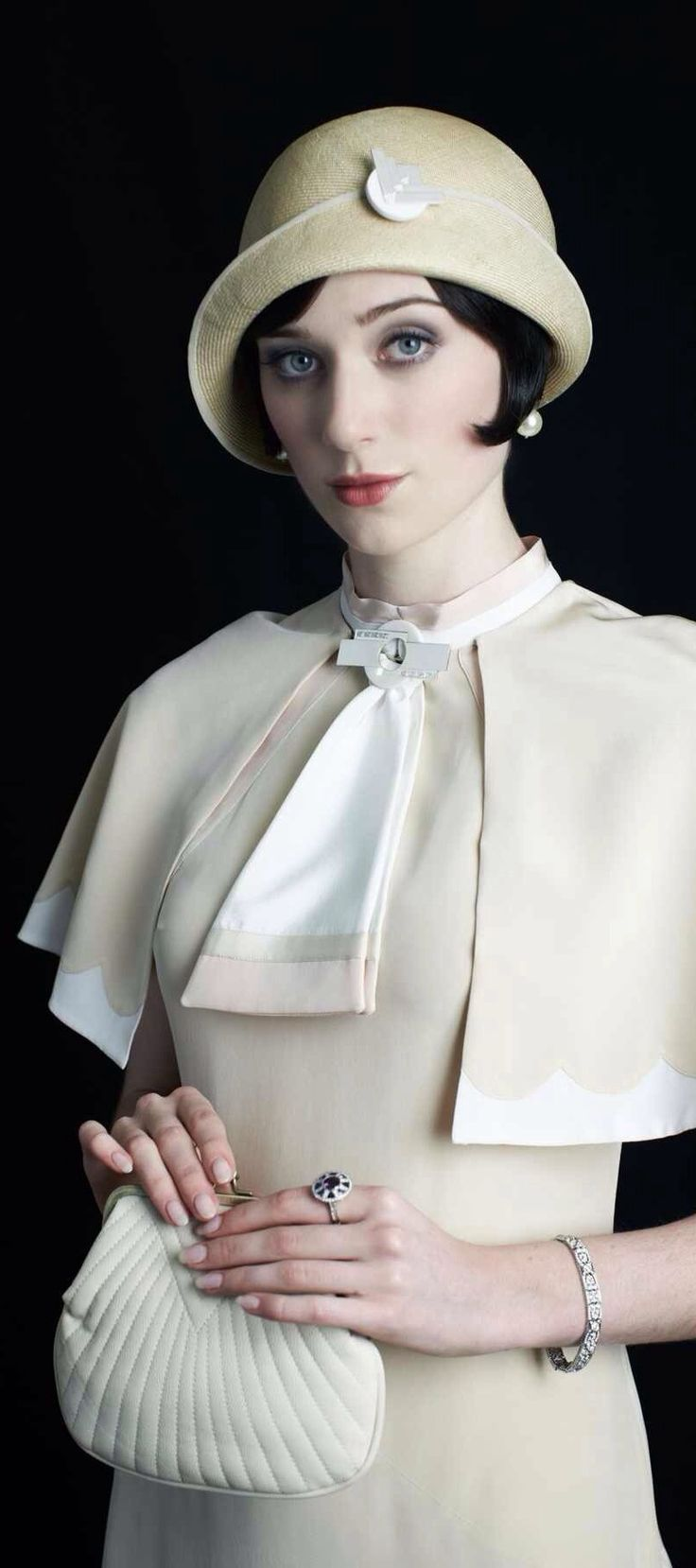 Elizabeth Debicki as Jordan Baker from 'The Great Gatsby' (2013). Costume Designer: Catherine Martin