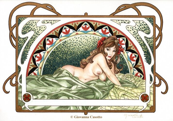 Artist by commission erotic rape