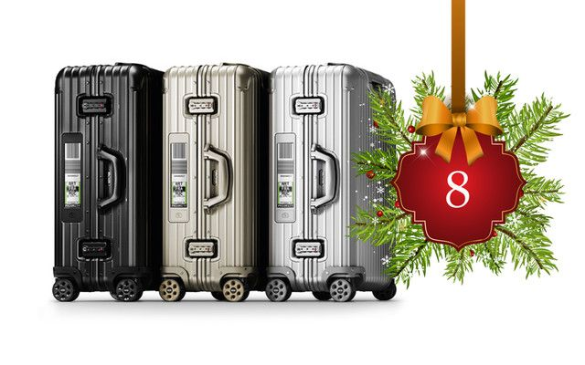 Lufthansa et Rimowa s'associent pour un boarding pass intégré numériquement dans la valise... #LeFashionPost #Webzine #WilliamArlotti #Bagage #Luggage #Rimowa #Lufthansa #Lifestyle #Shopping #Cadeaux #Mode #Fashion #Innovation