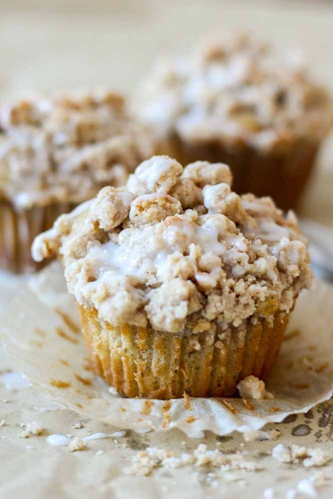 Coffee Cake Crumble Muffins – Recipes