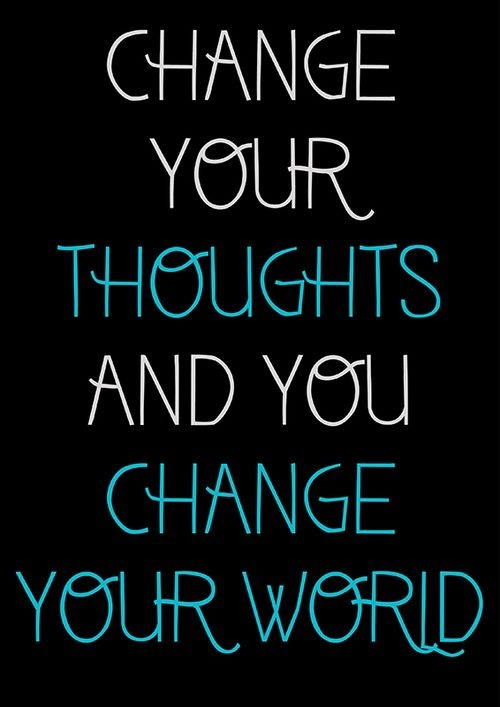 Change your thoughts and you'll change your world. Happy Friday, everyone! #Life #Advice #Coaching www.Your24hCoach.com