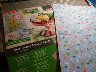 TAK - Twórczo Aktywnie Kreatywnie: Świąteczna kartka z reniferem