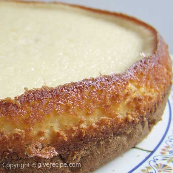 Basic Cheesecake | giverecipe.com | #cheesecake