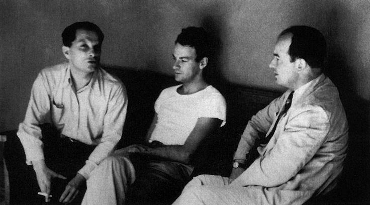 Stanisław Ulam, Richard Feynman, and John Von Neumann