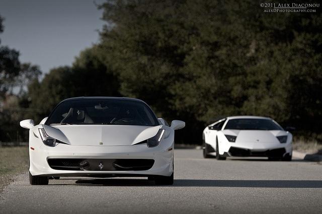 Ferrari 458 & Lamborghini LP670 SV
