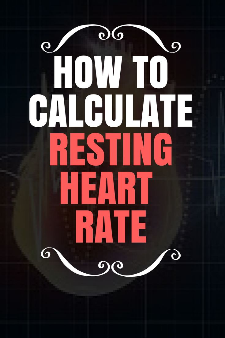 The 25 best resting heart rate chart ideas on pinterest pulse calculate your resting heart rate using the wrist or neck method nvjuhfo Images