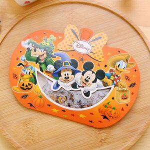 Disney Seal Sticker Flakes Sack   Halloween Pumpkin