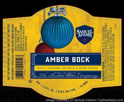 mybeerbuzz.com - Bringing Good Beers & Good People Together...: Samuel Adams - Amber Bock & Oatmeal Stout