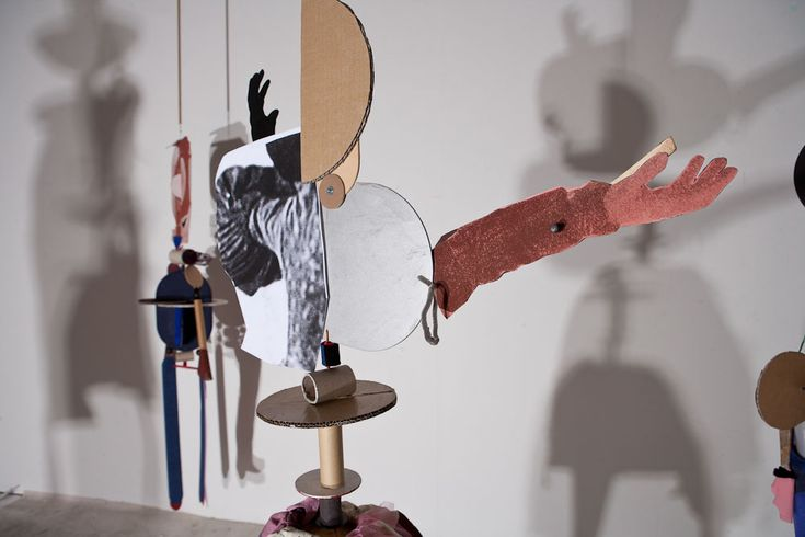 Sally Smart's installation work Artists Dolls was commissioned by GOMA for their current exhibition-
