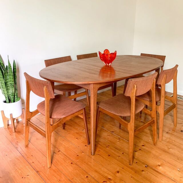 Mid Century Noblett Teak Extendable Dining Set Dining Tables Gumtree Australia Moreland Area Coburg 1243627043 In 2020 Dining Table Dining Table Setting Dining