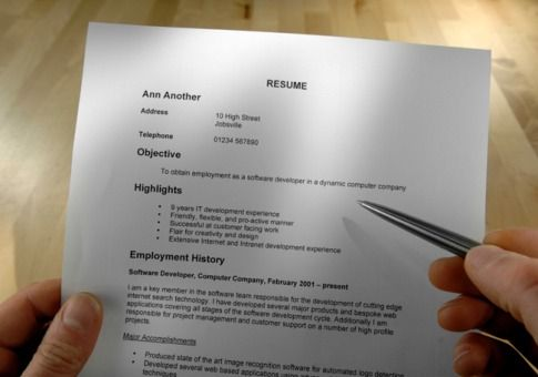 Delete Unnecessary Data From Your Job Resume Resume Writing - how to update a resume