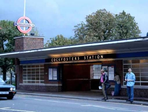 An image from Cockfosters underground station