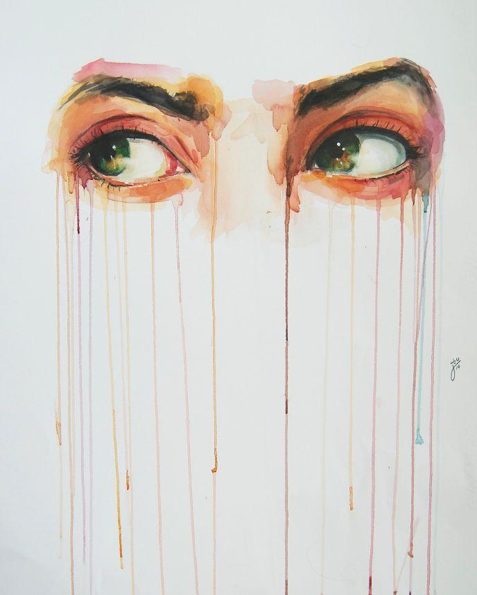 Olhos são as janelas da alma, por Jone Bengoa