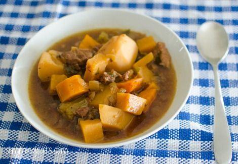 Slow Cooker Irish Beef Stew | Slimming Eats - Slimming World Recipes