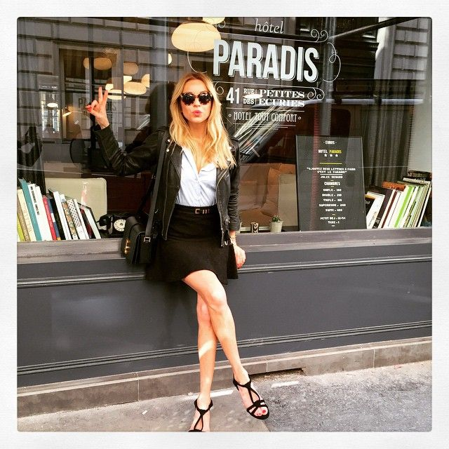 Redaktør Hege Aurelie Badendyck i Paris