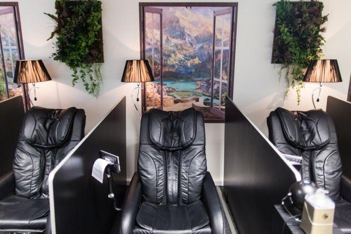 В офисе НРД есть комната релаксации, где можно отдохнуть в течение дня.