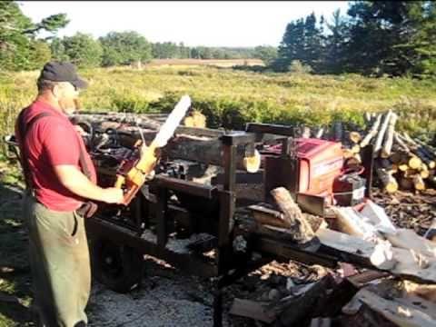 ▶ DIY - Homemade Firewood Processor - YouTube