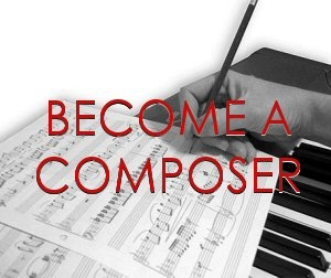 I want to learn to compose songs and become a singer-songwriter and wandering troubadour...