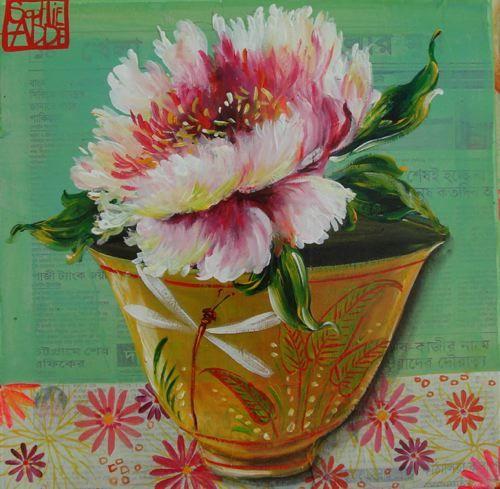 Sophie Adee  Peintures Fleurs