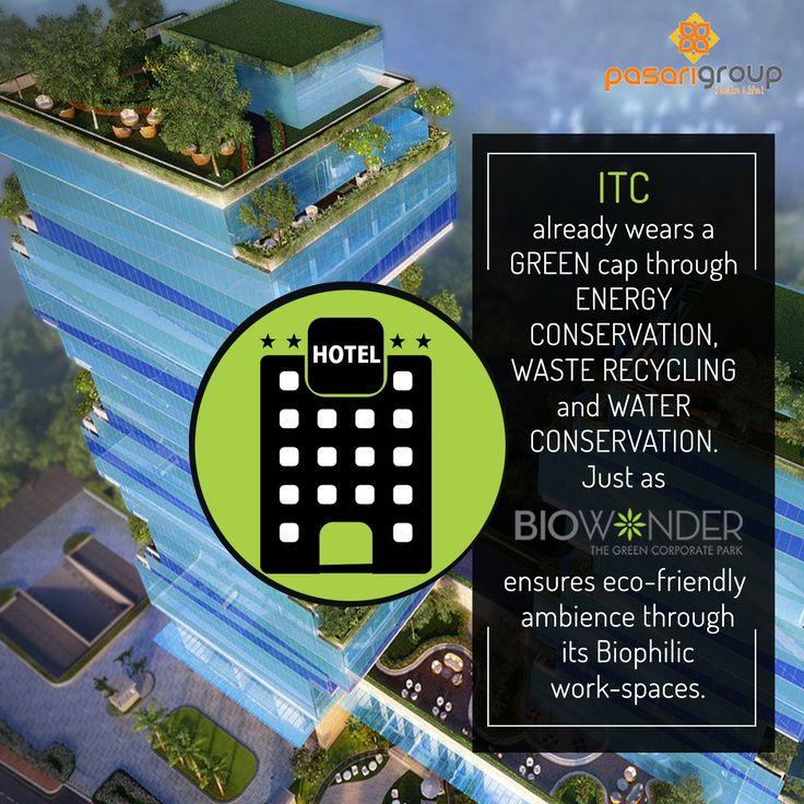 ITC and Biowonder share a green bonhomie. Both restore the natural resources through an eco-friendly technology. #Biowonder #PasariGroup #Kolkata #Biophilic #GoGreen #Corporates #ITC #Employees #EnvironmentFriendly #CorporatePark #Work #WorkSpace #RenewableEnergy #Rainwater #Water