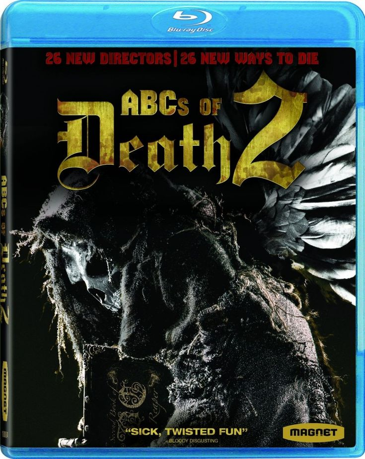 Blu-ray press release for ABCs of Death 2.
