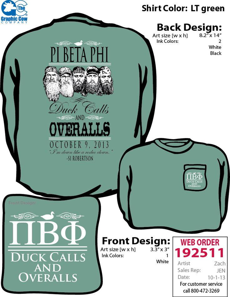 "Pi Beta Phi ""Duck Calls and Overalls"" Duck Dynasty dance #piphi #pibetaphi"