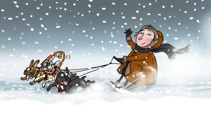 Russian winter began ...