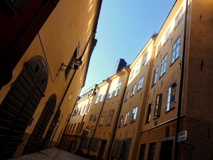 Travel & Lifestyle Diaries: Street in Gamla Stan, Stockholm