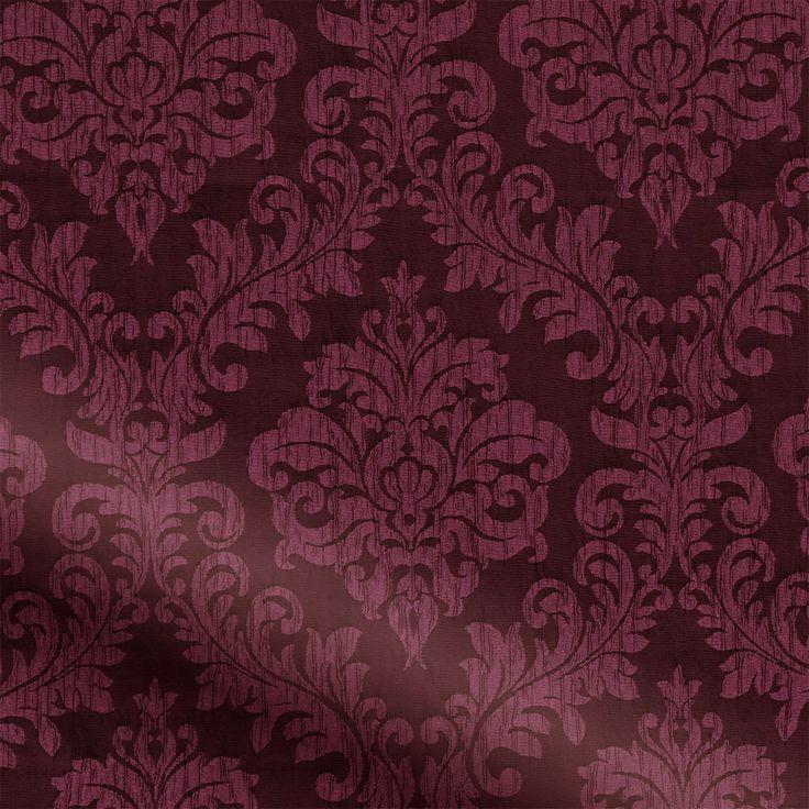 Florence Burgundy Curtains