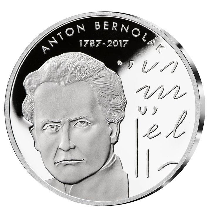Anton Bernolák - prvá kodifikácia slovenčiny- 230. výročie v rýdzom striebre