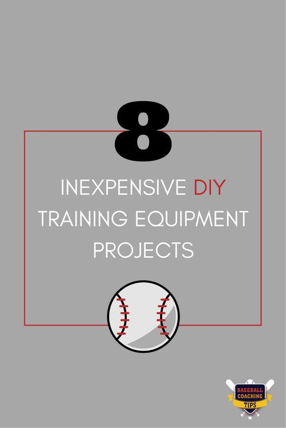 You don't have to spend all your money just to get equipment for your kid to practice at home. Here are 8 inexpensive DIY training equipment projects you can make at home - and save money doing it.